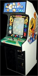 Arcade Cabinet for Pac-Mania.