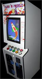 Arcade Cabinet for Paint & Puzzle.