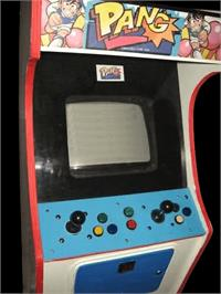 Arcade Cabinet for Pang.