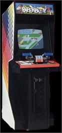 Arcade Cabinet for Paperboy.
