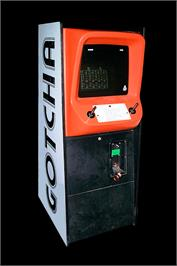 Arcade Cabinet for Pasha Pasha Champ Mini Game Festival.