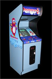 Arcade Cabinet for Pengo.