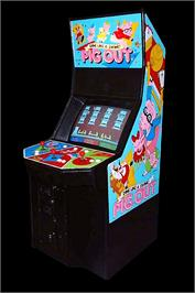 Arcade Cabinet for Pig Out: Dine Like a Swine!.