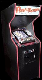 Arcade Cabinet for Pinball Action.