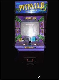 Arcade Cabinet for Pitfall II.