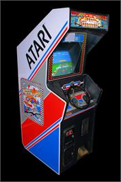 Arcade Cabinet for Pole Position.