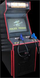 Arcade Cabinet for Police Trainer.
