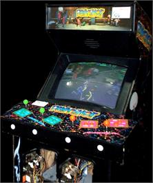 Arcade Cabinet for Punk Shot.