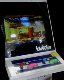 Arcade Cabinet for R-Type Leo.