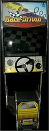 Arcade Cabinet for Race Drivin'.