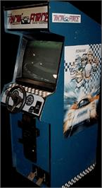 Arcade Cabinet for Racin' Force.