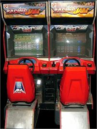 Arcade Cabinet for Racing Jam: Chapter 2.