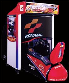 Arcade Cabinet for Racing Jam.