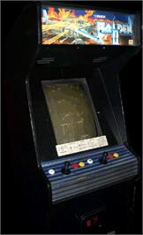 Arcade Cabinet for Raiden II.