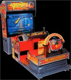 Arcade Cabinet for Rail Chase 2.