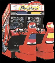 Arcade Cabinet for Rave Racer.
