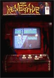 Arcade Cabinet for Renegade.