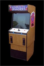 Arcade Cabinet for Return of the Invaders.