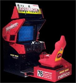 Arcade Cabinet for Ridge Racer.
