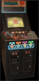 Arcade Cabinet for Rim Rockin' Basketball.