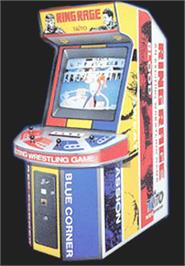 Arcade Cabinet for Ring Rage.