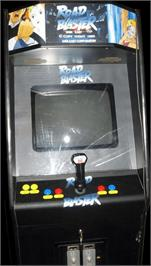 Arcade Cabinet for Road Blaster.