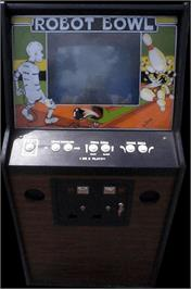 Arcade Cabinet for Robot Bowl.