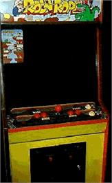 Arcade Cabinet for Ropeman.