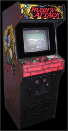 Arcade Cabinet for Rush'n Attack.