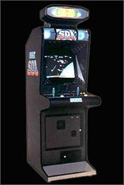 Arcade Cabinet for SDI - Strategic Defense Initiative.