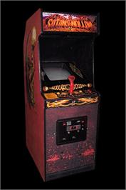 Arcade Cabinet for Satan's Hollow.