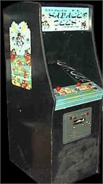 Arcade Cabinet for Savage Bees.