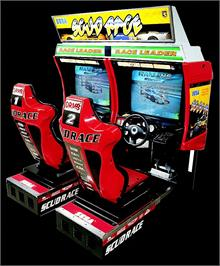 Arcade Cabinet for Scud Race.
