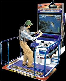 Arcade Cabinet for Sega Marine Fishing.