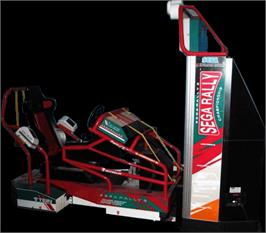 Arcade Cabinet for Sega Rally 2.