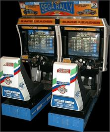 Arcade Cabinet for Sega Rally Championship.