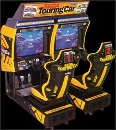 Arcade Cabinet for Sega Touring Car Championship.