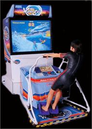 Arcade Cabinet for Sega Water Ski.