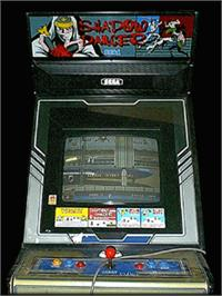 Arcade Cabinet for Shadow Dancer.