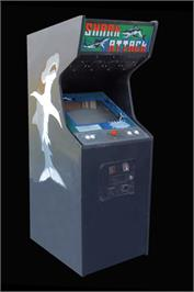 Arcade Cabinet for Shark Attack.