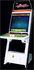 Arcade Cabinet for Shootout Pool.