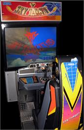 Arcade Cabinet for Sky Target.