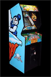 Arcade Cabinet for Snow Bros. - Nick & Tom.