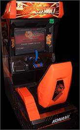 Arcade Cabinet for Solar Assault.