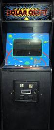 Arcade Cabinet for Solar Quest.