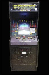 Arcade Cabinet for Son of Phoenix.