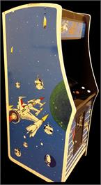 Arcade Cabinet for Space Battle.