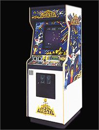 Arcade Cabinet for Space Dragon.