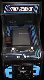 Arcade Cabinet for Space Dungeon.