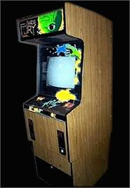 Arcade Cabinet for Space Fury.